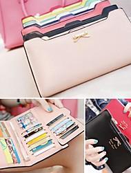 Женский длинный кошелек для кредитных карт