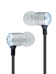Lizu LZ-2000 Metal In-Ear Earphone with Mic for Mobilephone