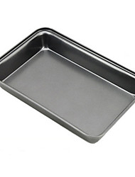 Rectangle Non-stick Iron Cake Mold, L30cm x W19.6cm x H5cm