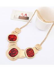 CMY Women's Fashion New Delicate Colorful Stones Joker Necklace QZ10272