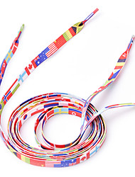 1 Pair 2014 World Cup National Flag Shoelaces(120cm)