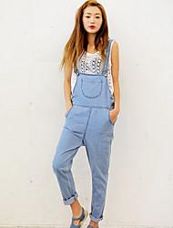 Loose Women NNA'S Casualjum Psuits Jeans (azul claro)
