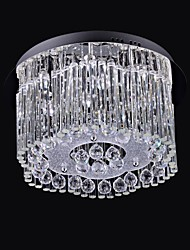 LED 1W 8 Light K9 Crystal Ceiling
