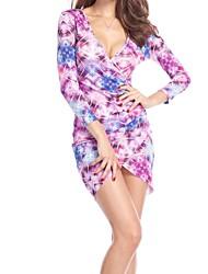 Женская Экспорт Популярные Мода Sexy Bodycon платье