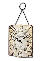 """14 """"H Antique Style Horloge murale en métal"""