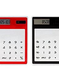 motorisé calculateur tranparent tactile solaire (couleur aléatoire)