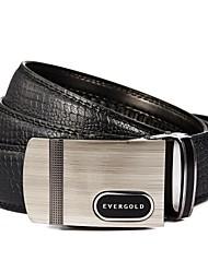 Cuero Evergold ® Automático para Hombre Belt Buckle