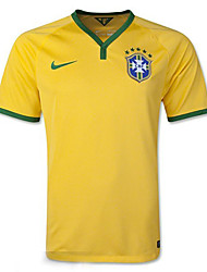 2014 World Cup World Cup Jerseys Brazil Home Game Yellow(Fans)