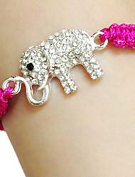 elefante pulsera macrame