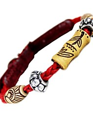 Hottie Red Rope Doggie Beads Collars for Pet Dog (Assorted Sizes)
