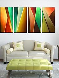 Натяжные холсте Аннотация Цвет Piece Set 4
