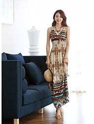 Women's Dresses , Chiffon/Others Casual/Work Mofansi