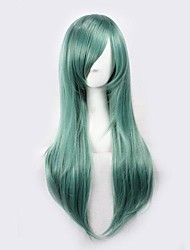 Cosplay Wigs Kagerou Project Saori Kido Green Medium Anime/ Video Games Cosplay Wigs 65 CM Heat Resistant Fiber Male / Female