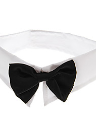 Gentleman Stlye Black Bowtie for Pets Dogs (Assorted Sizes)