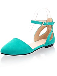 los zapatos de las mujeres de solaz planas pisos de ante de tacón zapatos más colores disponibles