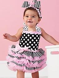 Children's Pink Ruffle Sundress Fashion Baby Dresses
