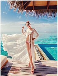 Women Sexy Look-though Bikini Swimwear Cover Beach Top