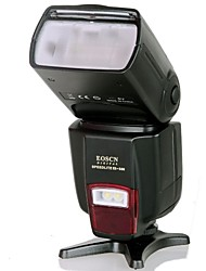 EOSCN ES-560 Universal Speedlight with Fill Light Function for Canon, Nikon, Pentax, Olympus - Black