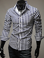 Stripe gaine shirt debe hommes