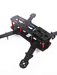 Blackout QAV250 Carbon Fiber Mini 250 FPV Quadcopter Frame (Zerlegt)