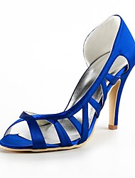 Women's Wedding Shoes Heels/Open Toe Sandals Wedding/Party & Evening Black/Blue/Pink/Purple/Red/Ivory/White/Gold