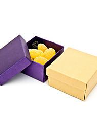 Simple Boîte faveur Cuboid - Lot de 12 (plus de couleurs)