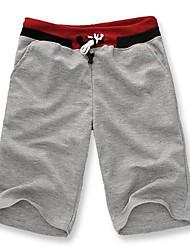 la mode des hommes nouveaux lesen occasionnels pantalon lâche et sportives de moyenne longueur o
