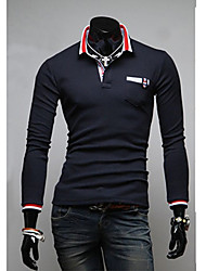 Men's Long Sleeve T-Shirt , Others Casual