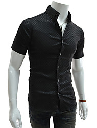 Men's Tops & Blouses , Cotton/Polyester Casual/Work Duolunduo