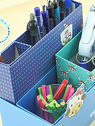 Creative Design Paper Multi-function Storage Box(Random Color)
