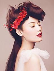 Mode Braut nachgemachte Perlen-Kopfschmuck-Blume