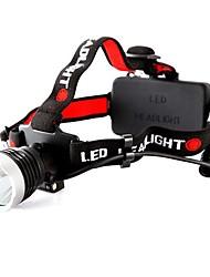 800 Lumen CREE XM-L XML T6 LED ricaricabile Lampada frontale