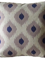 Impression Of Geometric Gray Box Decorative Pillow with Insert
