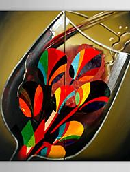 Ручная роспись Натюрморт 1 панель Холст Hang-роспись маслом For Украшение дома