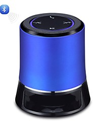 AJ-80 Mini bewegliche drahtlose Bluetooth 2.1 + EDR Hallo-Fi Stereo Speaker-Gold/Blue/Red/Silver
