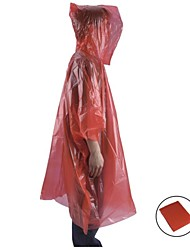 Unisex Raincoat/Poncho / Winter Jacket Camping / Hiking Waterproof / Rain-Proof Spring / Summer / Fall/Autumn / Winter Yellow / Red