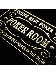 miglior bar birra poker room liquore luce al neon segno