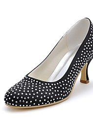 Women's Wedding Shoes Heels/Closed Toe Heels Wedding/Party & Evening Black/Blue/Yellow/Pink/Purple/Red/Ivory/White/Silver/Gold