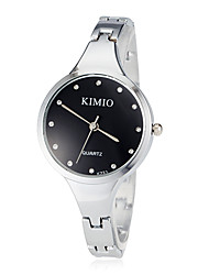 Women's Diamond Silver Steel Band Quartz Bracelet Watch (Assorted Colors) Cool Watches Unique Watches