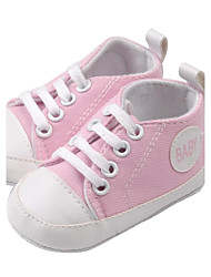 Children's  New Pretty Baby Child Infants Toddlers Soft Sole Anti Slip Canvas Walk Shoes