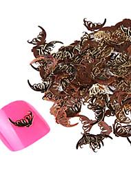 yemannvyou®20pcs bonito borboleta liga voar sozinho decorações da arte do prego no.39-40 (cores sortidas)