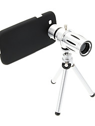 Zoom 12X Telephoto Metal Cellphone Lens with Tripod for Samsung S3