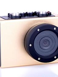 HD1080P - F35C  Wide Angle High Definition Mini Waterproof Sports Camera - Champagne