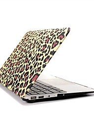 ENKAY Leopard Print Protective Polycarbonate Full Body Case for MacBook Air