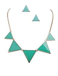 Colorful simple Triangle de bijoux de mode