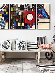 AbstraktesBild Framed Canvas Juego de 3