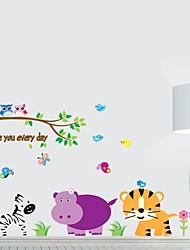 Фрэнки ™ DIY Декоративные наклейки мультфильм детей могут быть удалены