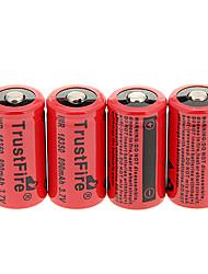 TrustFire TR 800mAh 18350 батареи (4шт)