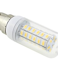 7W B22 LED Corn Lights T 48 SMD 5730 600 lm Warm White AC 220-240 V