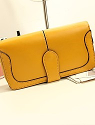 Women's New Fashion Girls Vintage Nubuck Leather Wallets Card  Coin Purses for cellphone